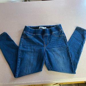 Old Navy jeans jeggings wide waist 10S short L